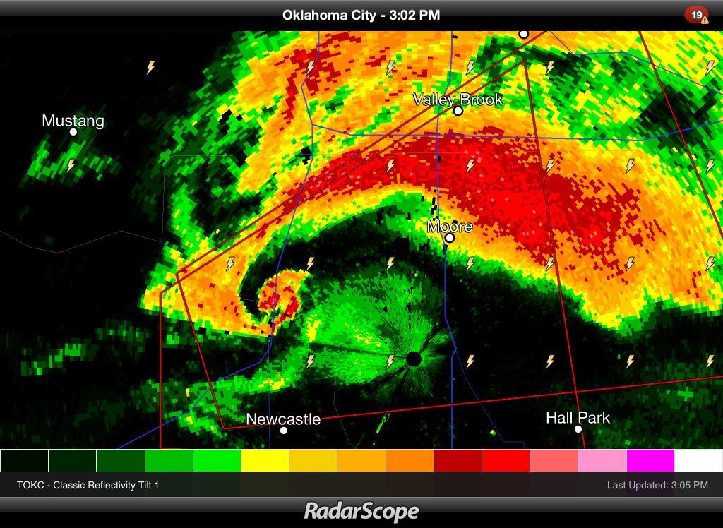 Severe Thunderstorms Radar